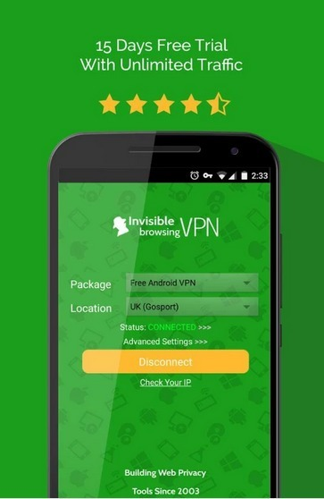 ibVPN Android App Is Now Compatible with Android Lollipop   Invisible Browsing VPN   Scoop.it