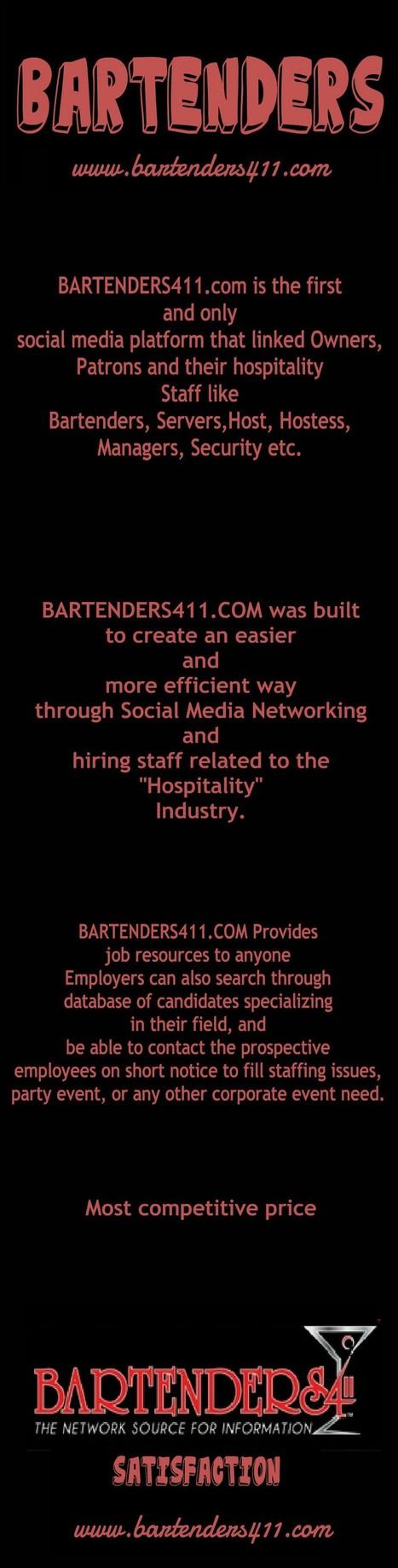 All About Baetenders. | Bar Tender | Scoop.it