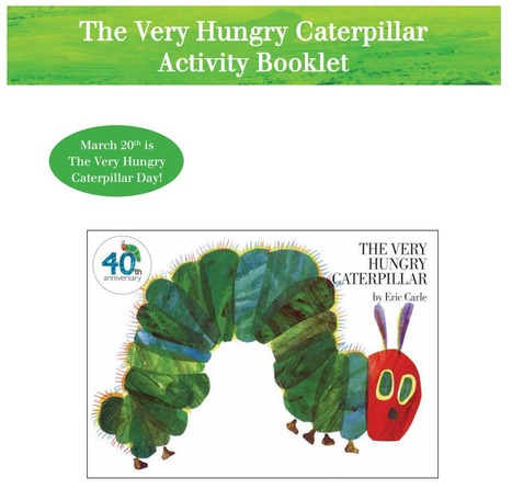 The Very Hungry Caterpillar - Teacher Resource Book. | Early Stage 1: Reading and Viewing : The Very Hungry Caterpillar | Scoop.it