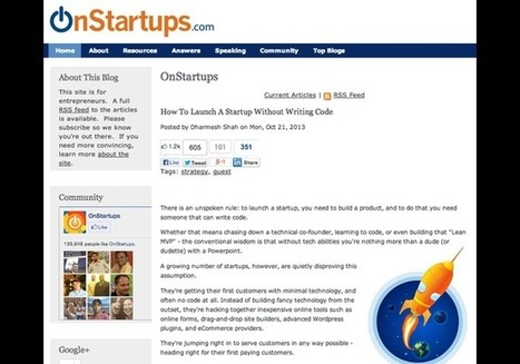 On Startups - In Photos: 100 Best Websites For Entrepreneurs | Reading - Web and Social Media | Scoop.it