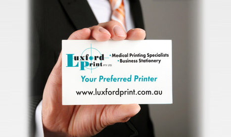 Luxford Print Pty Ltd - Business Cards | Luxford Print Pty Ltd | Scoop.it