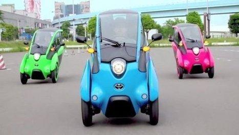 Les nouvelles mini voitures électriques de Grenoble sont en service ! - France 3 Alpes | Marc Fornas | Scoop.it
