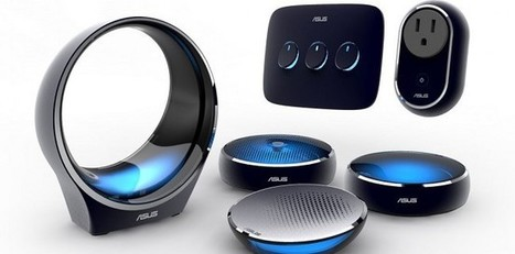Asus se lance dans la domotique design | Hightech, domotique, robotique et objets connectés sur le Net | Scoop.it
