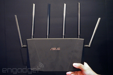 There's no such thing as too many antennas for ASUS' high-end router | pfSense | Scoop.it
