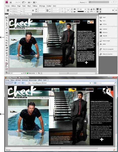 Adobe InDesign * Documents Web interactifs pourFlash | La Suffragette | Scoop.it