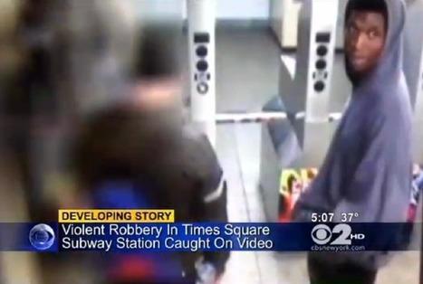 Wild Vid: Man Seemingly Sucker Punches Unsuspecting Traveler at ...   Gestion de subway   Scoop.it