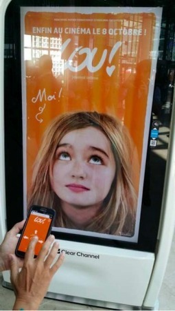 France : Pour la sortie de Lou ! Journal infime, Clear Channel vous laisse prendre le contrôle de ses totems | Visual Communication News | Scoop.it