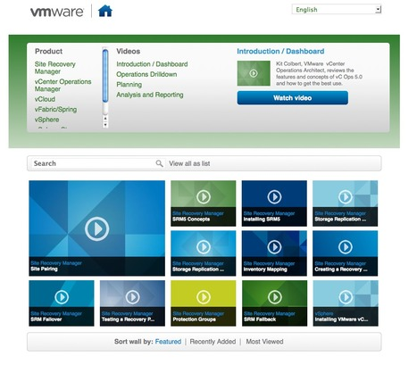 VMware met gratuitement à disposition des vidéos techniques | Time to Learn | Scoop.it