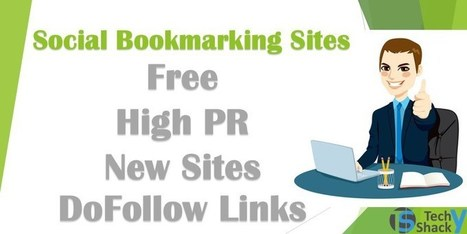 Free Social Bookmarking Sites List With High PR (New Sites) | Anshul Mathur | Scoop.it