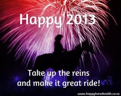 Happy New Year Everyone.  May all your dreams of happiness and success continue to come true! | Horse And Rider World | Scoop.it