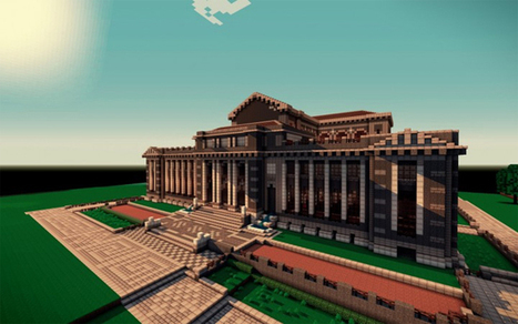 Ten of the Most Beautiful Libraries Ever Built (In Minecraft) - BOOK RIOT | School Library News | Scoop.it