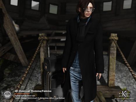 ::K::: ::K:: JD Overcoat Homme/Femme@Shiny Shabby   Style of LIFE   Scoop.it