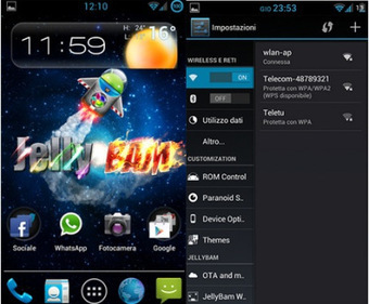 Flash Process Of Custom ROM, JellyBam, For Galaxy Note II GT-N7100 | AndroidTuition | Scoop.it