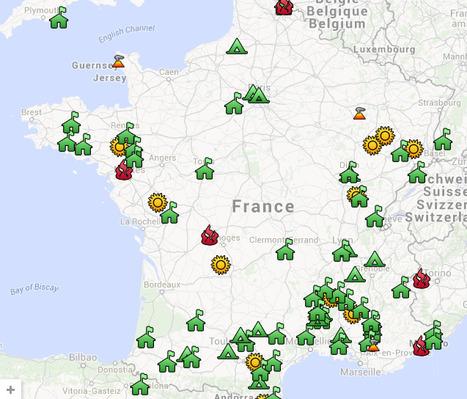 Résistance! Carte des utopies et luttes écologistes et sociales concrètes   Les cartes des Alternatives - Géographie de la transition   Scoop.it