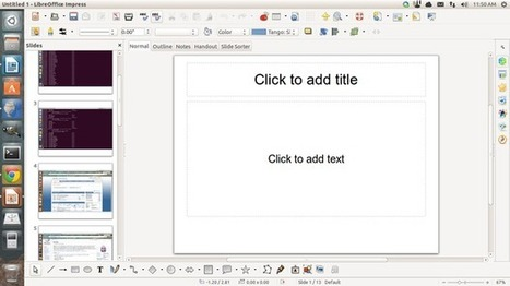 Create a photo slide show presentation in LibreOffice 4.1 | Edtech for Schools | Scoop.it