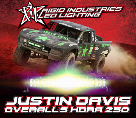 Rigid Industries Racers Take Four Wins and the Overall at HDRA 250 | Offroad Racing, | Scoop.it