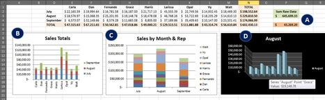 Excel Dashboard: 4 Quick Notes - Data Management Chicago | DataScopic | Data Management, Data Quality | Scoop.it