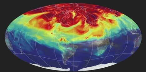 Watch a Year's Worth of Carbon Dioxide Billow Around the Globe | Sustainable Futures | Scoop.it