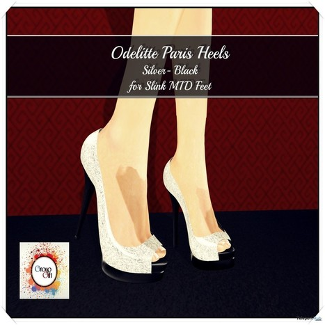 Paris Heels Color Me Project Group Gift by Odelitte | Teleport Hub - Second Life Freebies | Second Life Freebies | Scoop.it