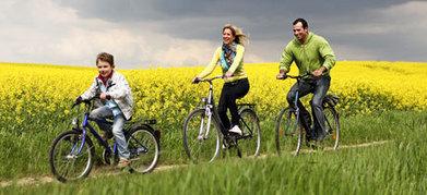 Cicloraíl en Salinas de Pisuerga. Ruta en bicicleta para niños | Mexicanos en Castilla y Leon | Scoop.it