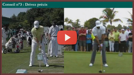 [Conseil 3] Analyse des drives de Tiger Woods et Rory McIlroy   Nouvelles du golf   Scoop.it