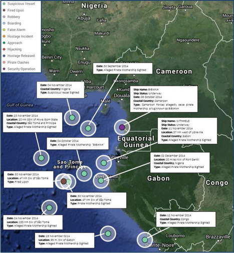 PIRACY IN THE GULF OF GUINEA: IS NIGERIA ALWAYS TO BLAME? | Maritime piracy | Scoop.it