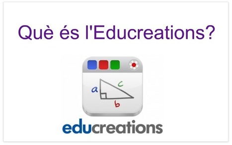 Tutorial Educreations - PROYECTO #GUAPPIS | iPad classroom | Scoop.it