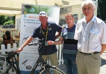 Un vélo électrique à hydrogène - La Dépêche | Open source car | Scoop.it