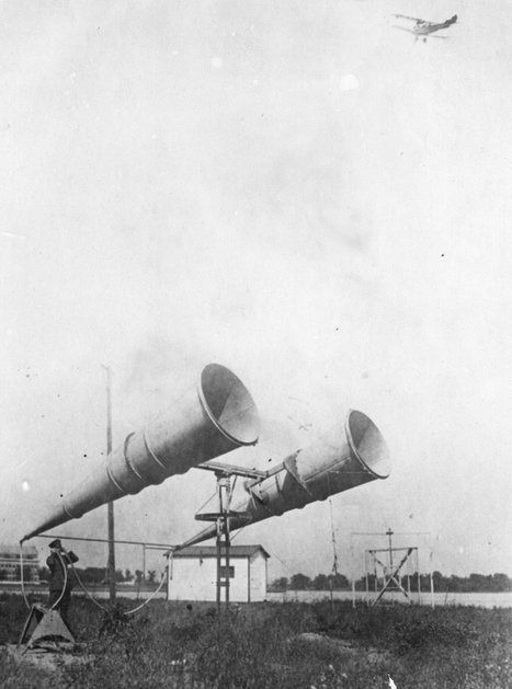 "Before Radar there was Giant WWI ""war tubas"" 