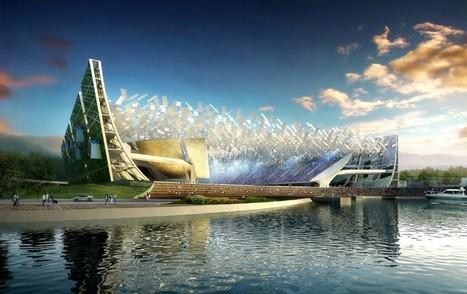 Dalian Shide stadium | NBBJ | Dalian, China | Architecture, Design, Art, Technology | Scoop.it