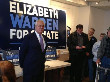 photo: Barney Frank had a great time speaking with @ElizabethforMA supporters in Northampton! | Massachusetts Senate Race 2012 | Scoop.it