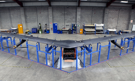 Facebook launches Aquila solar-powered drone for internet access | Robolution Capital | Scoop.it