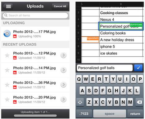L'application Google Drive supporte le format paysage - Le Soir | Applications Iphone, Ipad, Android et avec un zeste de news | Scoop.it