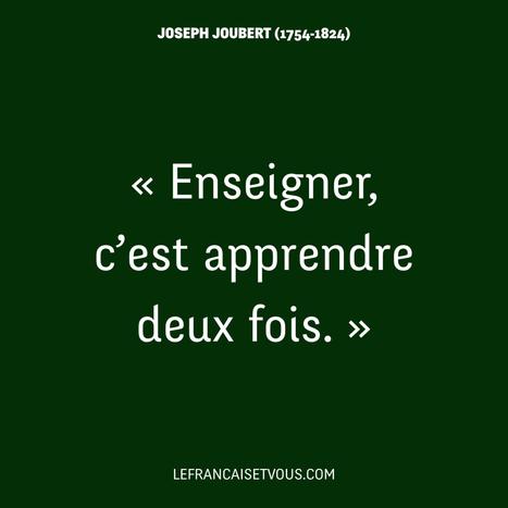 La citation du jour | En français, au jour le jour | Scoop.it