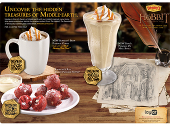 Denny's fires up mobile strategy with QR codes plus augmented reality - Mobile Commerce Daily - Content      Mall Zee    Mall as Culture   Mall as Metaphor   Mall as Mall      Scoop.it