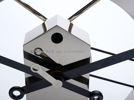 New Work: Clock for an Architect | Art, Design & Technology | Scoop.it