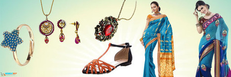 online Indian saree shoppin   Buy Online: Indian Products, Dresses, Sarees – NriBestBuy   Scoop.it