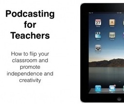 'Podcasting' on the iPad | early childhood education and more | Scoop.it