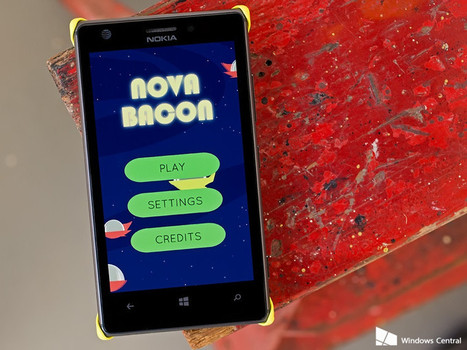 Nova Bacon a Windows Phone game full of porkbellies, aliens and farm tractors | Windows 8.  + Windows Phone | Scoop.it