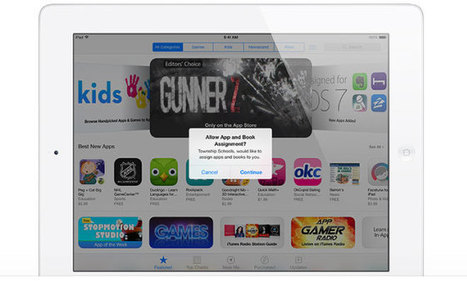 Apple simplifies bulk book and app deployment with new 'managed distribution' program | iPad Apps for Middle School | Scoop.it