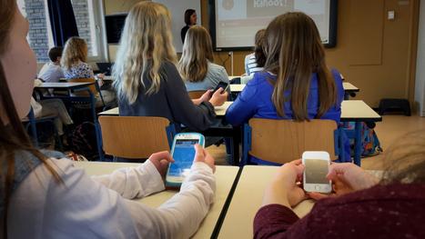 Scholen omarmen smartphone tegen wil en dank | NOS | 4pip | Scoop.it