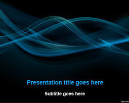 Free Black Smoke Abstract PowerPoint Template   Free Powerpoint Templates   ecology   Scoop.it