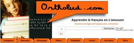 Ortholud.com, exercices en ligne pour apprendre le français | Activités en ligne pour l'école primaire | Scoop.it