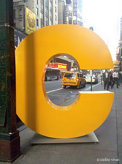 Have you seen the big yellow Cs in NYC? | Digital Health and Pharma | Scoop.it