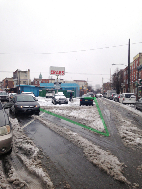 PHOTOS: What Snow Tells Us About Creating Better Public Spaces on E. Passyunk Avenue | This Old City | Local Economy in Action | Scoop.it