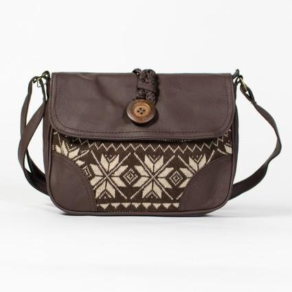 Petit sac besace bandoulière jacquard motif tricot   Accessoires de mode femme   Scoop.it
