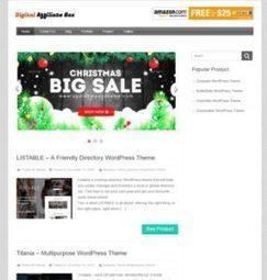 InkThemes : Digital Affiliate Box WordPress Theme for Envato Market | WordPress Themes Review | Scoop.it