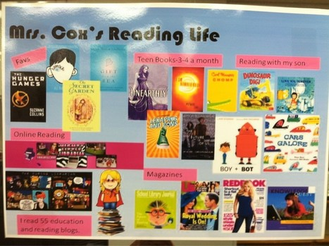 Tamara Cox's reading life poster | School Library Teachers: Collaborators of Knowledge | Scoop.it