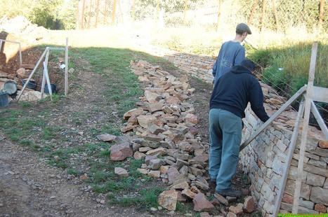 Chantier - Construction en pierre sèche et autres photiographies | pierresèche | Scoop.it