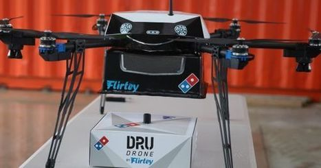 Domino's is Delivering Pizza Pie From the Sky, Thanks to Drones | Executive Coaching Growth | Scoop.it